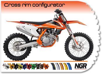 Crossmotor rims configurator by NGR Racing Products!