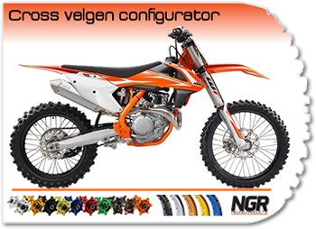 Cross velgen configurator van NGR Racing Products!