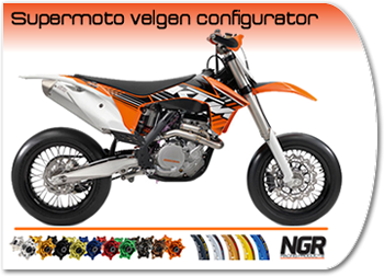 Supermoto velgen configurator van NGR Racing Products!