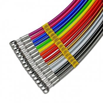 Hell remleidingen in kleur voor uw supermoto op maat gemaakt