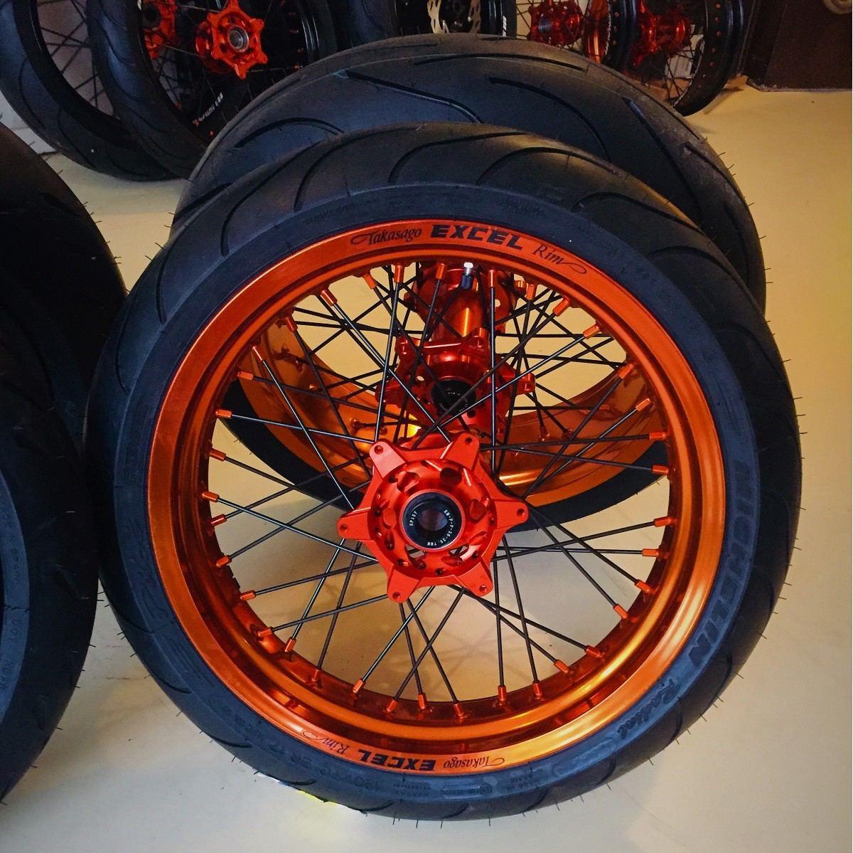 Excel Supermoto Wheels