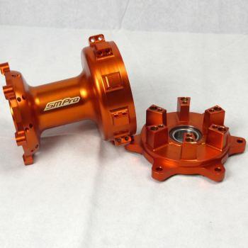 KTM 690 Orange Rear Hub