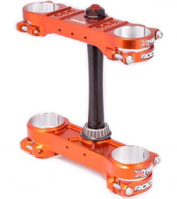 Xtrig Rocs kroonplaten voor KTM SX SXF EXC oranje