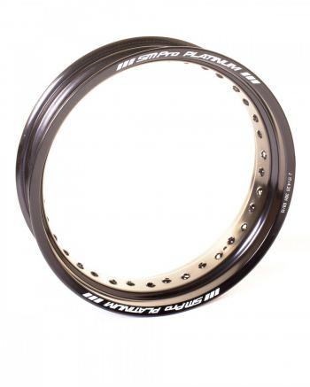 SMpro platinum zwarte supermoto velg