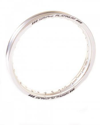SMPro platinum zilveren velg