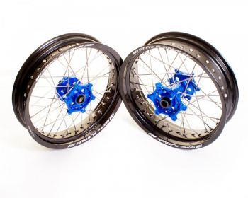 SMPro platinum supermoto velgen blauw