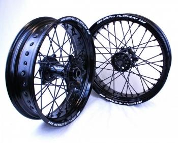 SMPro Platinum supermoto velgen zwart