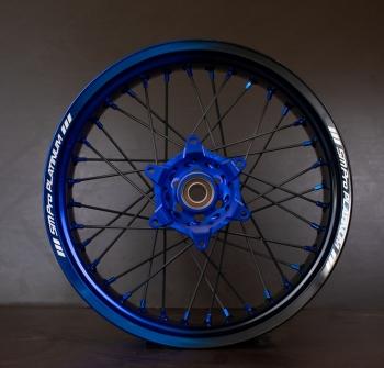SMpro velg dual color Blauw/Zwart